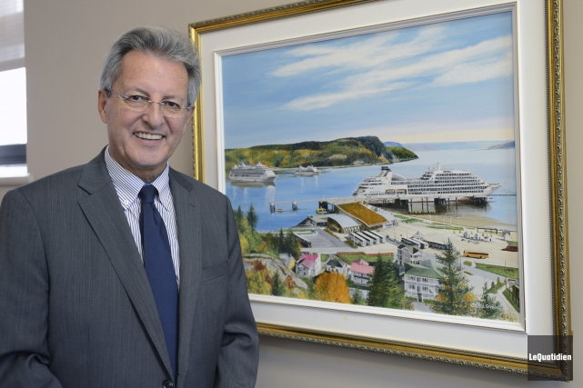 Le maire de Saguenay, Jean Tremblay, participera à... (Archives Le Quotidien, Jeannot Lévesque)
