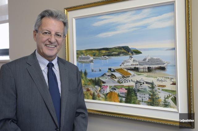 Le maire de Saguenay, Jean Tremblay.... (Archives Le Quotidien, Jeannot Lévesque)