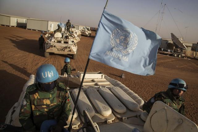 La mission au Mali est l'une des plus... (PHOTO AP)
