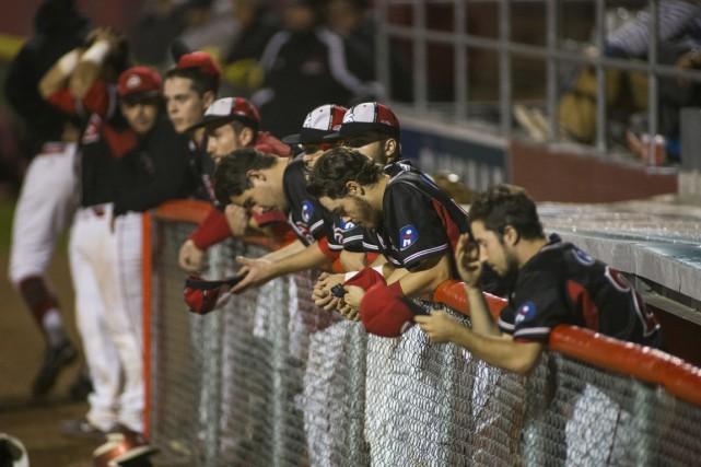 Les Aigles échappent le septième match de la... (Photo: Olivier Croteau)