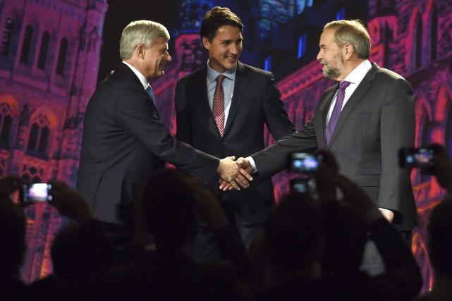 Le chef du Parti conservateur, Stephen Harper, le... (La Presse Canadienne, Sean Kilpatrick)