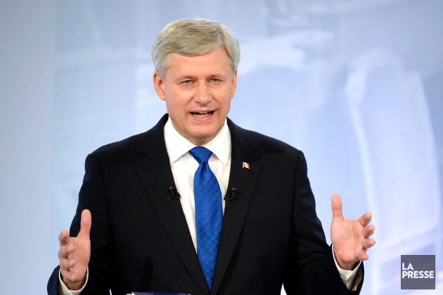 Stephen Harper.... (PHOTO BERNARD BRAULT, LA PRESSE)