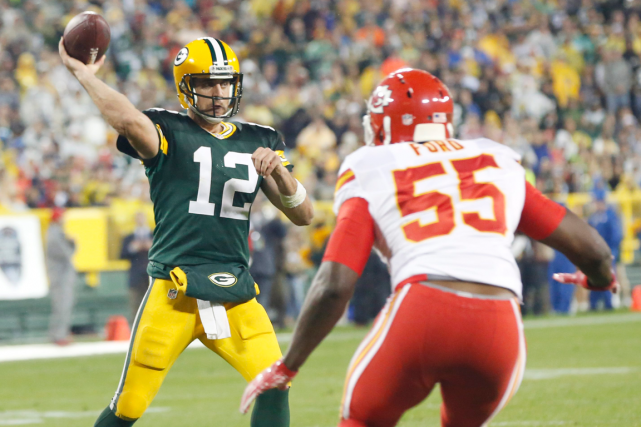 Aaron Rodgers et les Packers de Green Bay... (Photo Mike Roemer, AP)