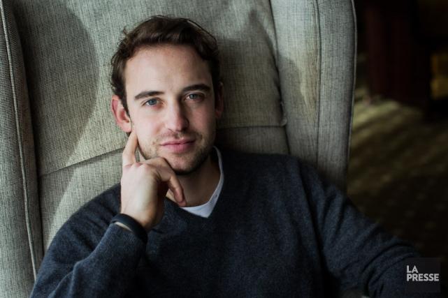 Joël Dicker, 30 ans, avait été la révélation... (PHOTO EDOUARD PLANTE-FRÉCHETTE, ARCHIVES LA PRESSE)