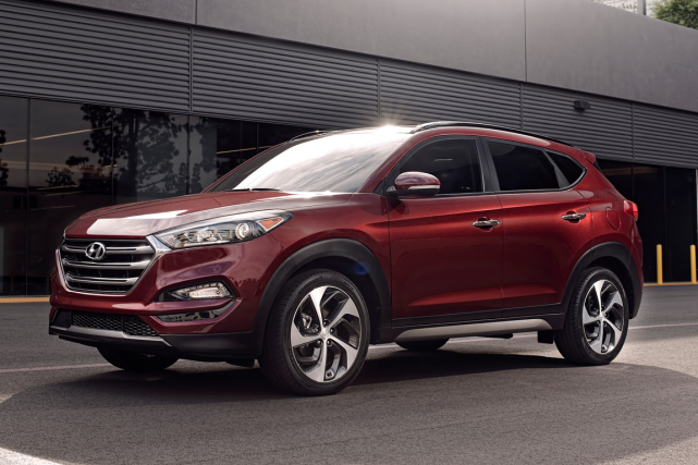 Le Hyundai Tucson 2016... (Photo fournie par Hyundai)
