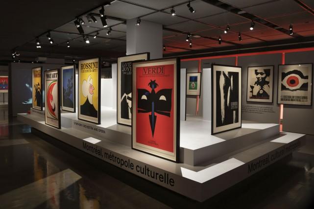 Un des plus grands affichistes du monde, Vittorio Fiorucci (1932-2008), fait... (Photo fournie par le musée McCord)
