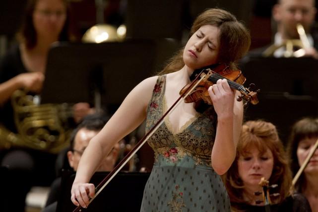 Vilde Frang jouera le Concerto pour violon de... (PHOTO OLIVIER JEAN, LA PRESSE)