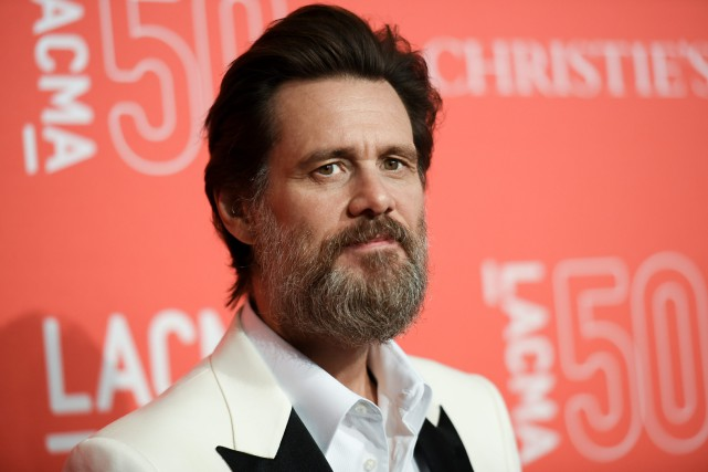 Jim Carrey... (Photo archives AP)
