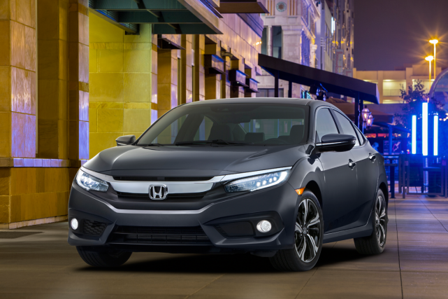 La Honda Civic 2016... (Photo fournie par Honda)