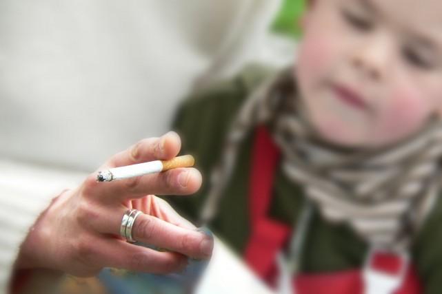 Les enfants exposés au tabac seraient plus agressifs:... (Photo Digital/Thinkstock)