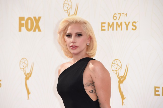 Lady Gaga... (PHOTO MARK RALSTON, AFP)