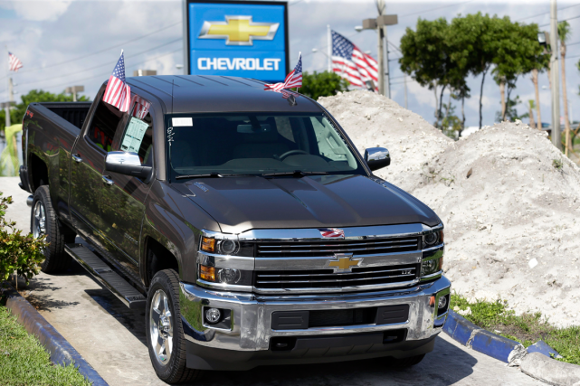 Le Chevrolet Silverado... (Photo Wilfredo Lee, AP)