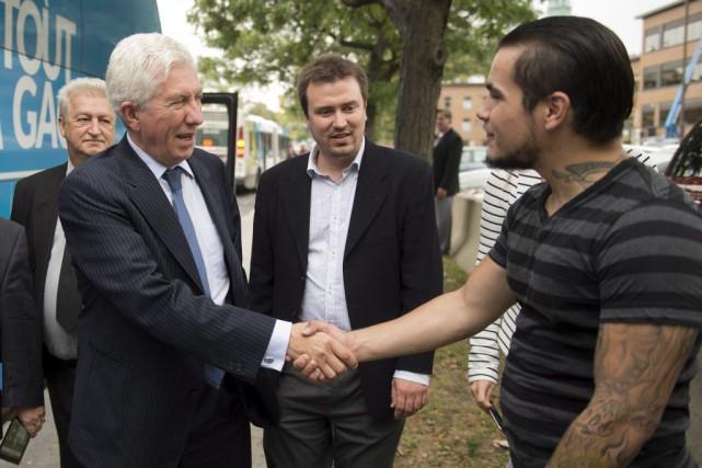 Le chef du Bloc québécois Gilles Duceppe est... (La Presse Canadienne, Ryan Remiorz)