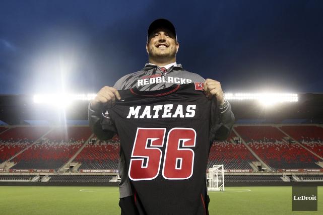 Alex Mateas a été le premier choix du... (Etienne Ranger, Archives LeDroit)