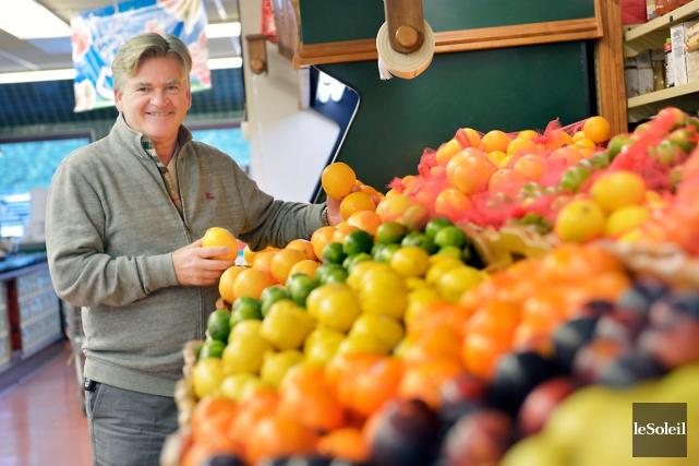 Le nouveau président de l'entreprise propriétaire des fruiteries... (Le Soleil, Yan Doublet)