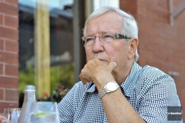 Louis Plamondon peut à nouveau croire qu'il est... (Photo: Émilie O'Connor, Le Nouvelliste)