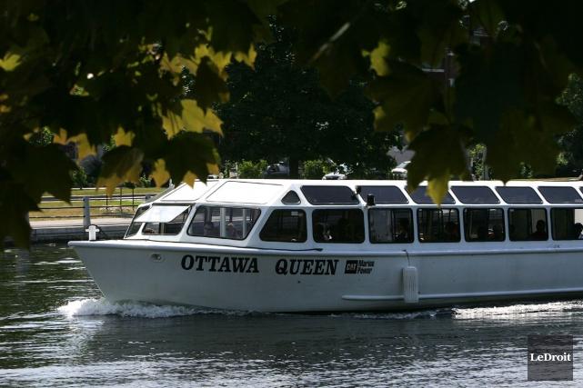 Les bateaux-mouches de la compagnie Paul's Boat Lines... (Archives, LeDroit)