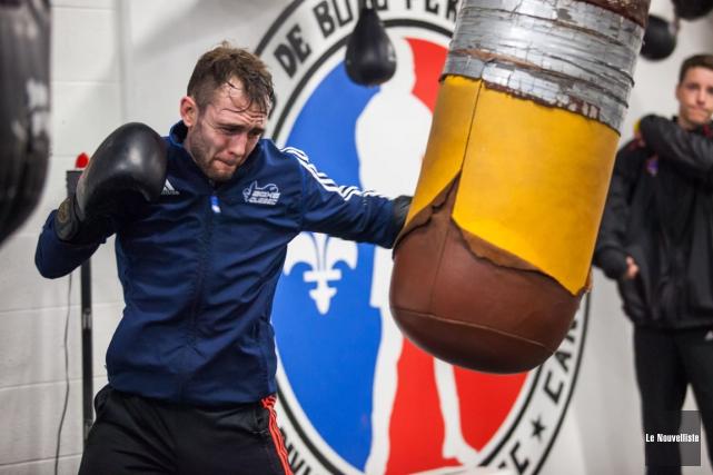 Le boxeur François Pratte entamera sa carrière professionnelle... (Photo: Olivier Croteau, Le Nouvelliste)