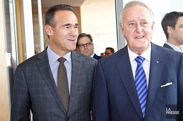 Le chef de la direction de Québecor, Pierre... (La Presse)