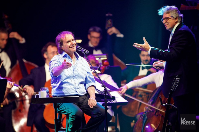 Chris de Burgh, lors de son spectacle à... (Photo André Pichette, La Presse)