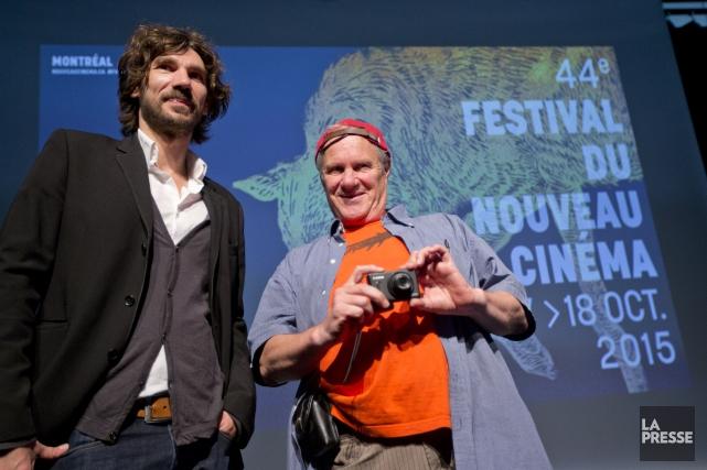 Nicolas Girard Deltruc, directeur général du Festival du... (Photo Patrick SANFAÇON, La Presse)