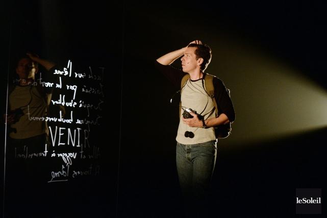 Vinciest présentée au Théâtre de la Ville de... (PHOTO ERICK LABBÉ, LE SOLEIL)