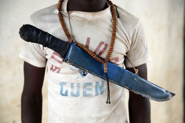 Les exactions commises par la Séléka ont ensuite... (PHOTO JEROME DELAY, ARCHIVES AP)