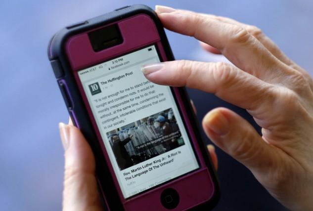 La prolifération des nouvelles gratuites sur le Web... (Photo Richard Vogel, archives AP)