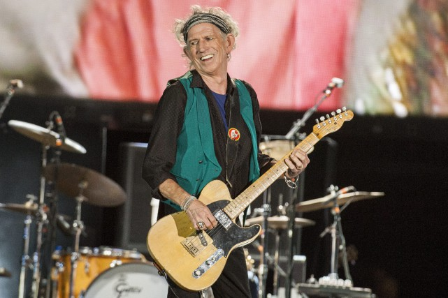 Keith Richards... (Photo archives AP)