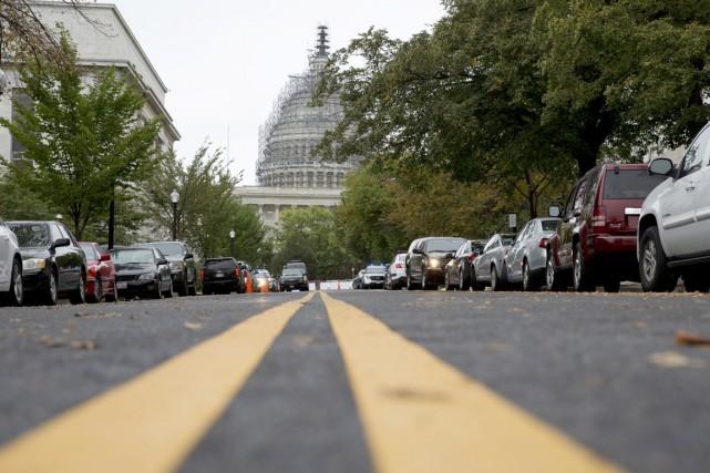 Vue sur le Capitole - bâtiment qui sert... (PHOTO CAROLYN KASTER, AP)