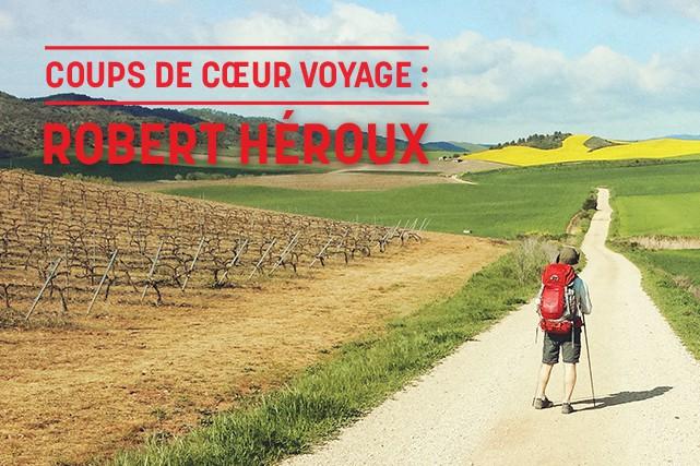 Robert Héroux voyage différemment. Il est un globe-trotteur en quête de liberté... (Crédit photo: Marie-France Givern)