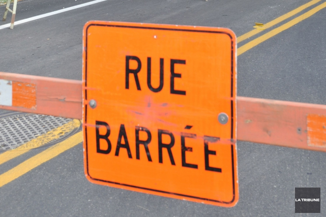 Les usagers du chemin Hamel, dans le secteur Saint-Élie, devront faire un... (Archives La Tribune, Maxime Picard)