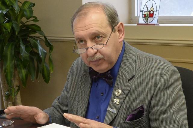 Le maire de Louiseville, Yvon Deshaies... (Sylvain Mayer)