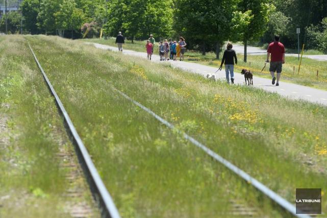 Attendu que la compagnie ferroviaire Central Maine & Québec Railway (CMQR)... (Archives La Tribune, Maxime Picard)