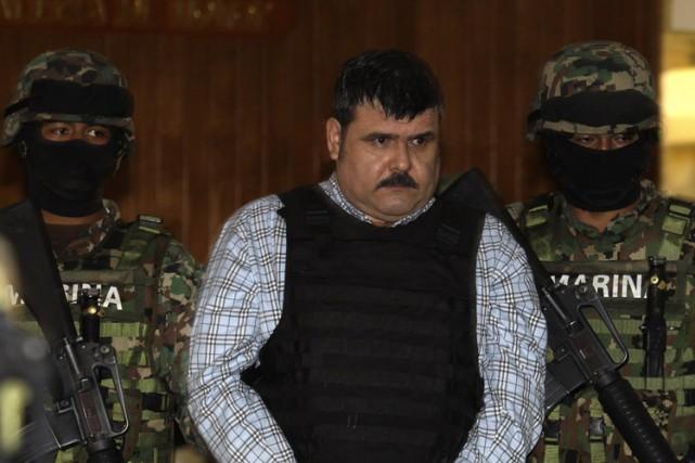 Parmi les narcotrafiquants présumés qui viennent d'être extradés... (PHOTO AP)