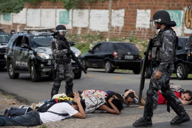 En 2014, la ville brésilienne la plus meurtrière... (ARCHIVES REUTERS)