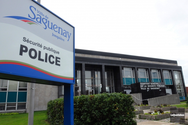En 2014, les policiers de Saguenay ont remis... (Photo Le Quotidien, Michel Tremblay)