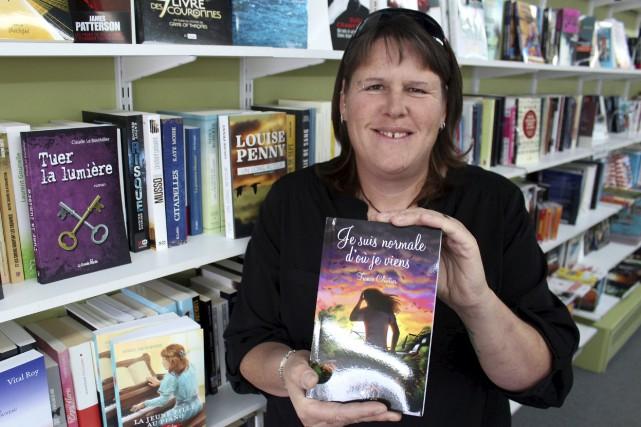 France Cloutier lancera son livre à la bibliothèque... (Audrey Tremblay)