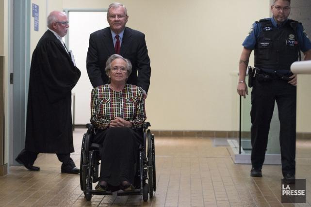 Lise Thibault est condamnée à 18 mois d'incarcération... (Jacques Boissinot, La Presse Canadienne)