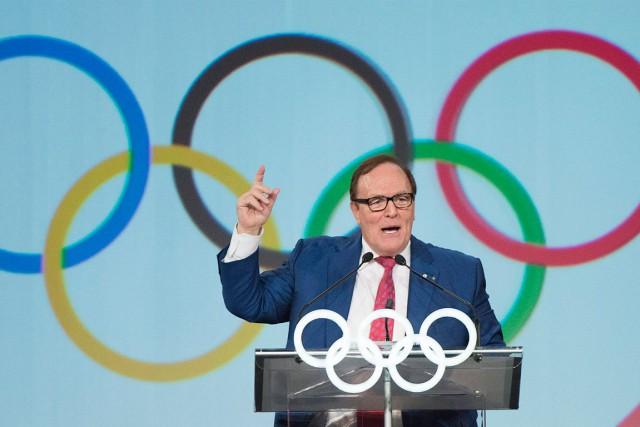 Le président du Comité olympique canadien (COC), Marcel... (Graham Hugues, Archives La Presse Canadienne)