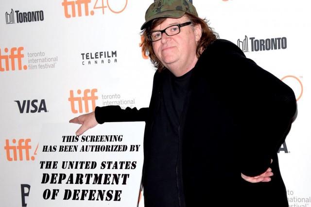 Dans son dernier film, Where to Invade Next,... (Jason Merritt, Archives Agence France-Presse)