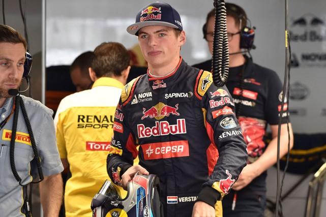 Débutant en Formule 1 cette saison,Max Verstappen, âgé... (AFP, KAZUHIRO NOGI)