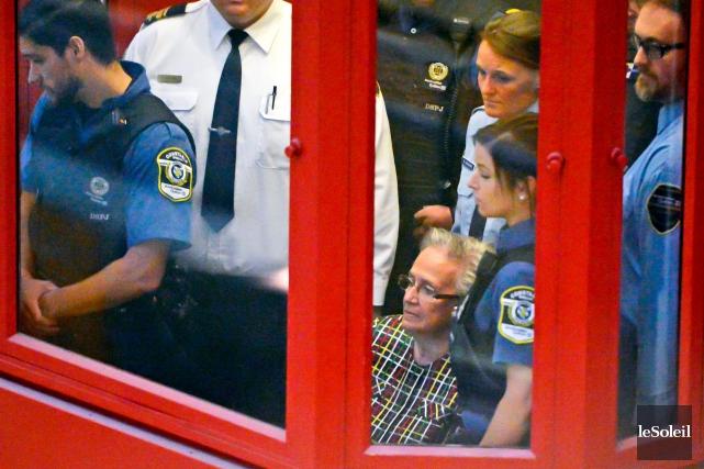 Le juge Carol St-Cyr a condamné l'ancienne lieutenante-gouverneure... (PHOTO JEAN-MARIE VILLENEUVE, LE SOLEIL)