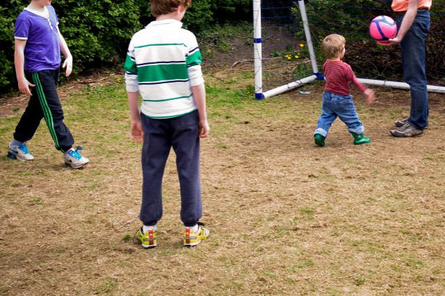 Moins de 10% des enfants font les 60... (Photo Eoin O'Conaill, archives The International Herald Tribune)