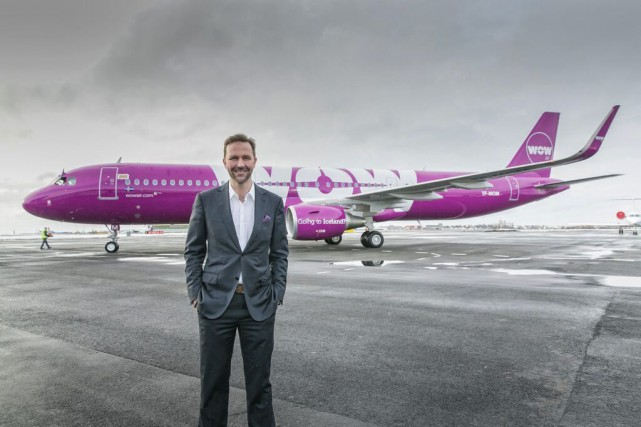 Le directeur général du transporteur islandais Wow Air, Skuli... (Photo CNW Group/WOW Air)