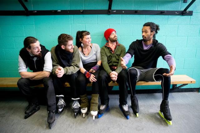 Taylor Dilley, Jasmin Boivin, Pascale Jodoin, Alexandre Hamel... (PHOTO FRANÇOIS ROY, ARCHIVES LA PRESSE)