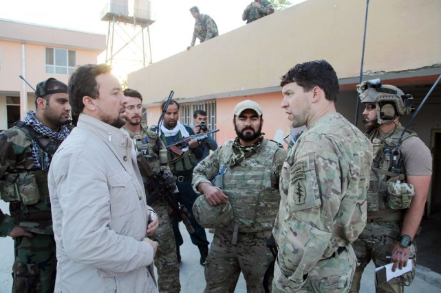 Le chef de la police de Kunduz, Mohammad... (PHOTO AP)