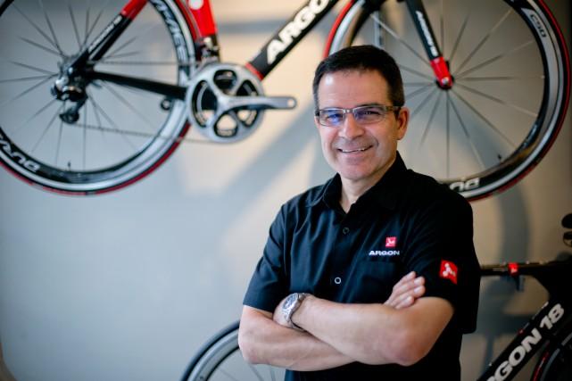 Gervais Rioux, trois fois champion canadien en vélo... (PHOTO DAVID BOILY, ARCHIVES LA PRESSE)