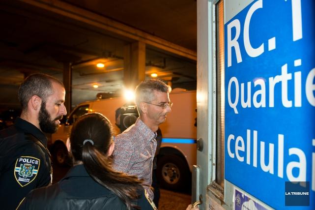 Robert Pelletier a été arrêté cette semaine pour... (Imacom, Jessica Garneau)