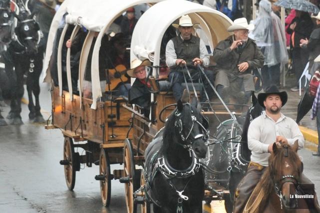 Certains viennent au Festival western de Saint-Tite pour... (Photo: Émilie O'Connor, Le Nouvelliste)